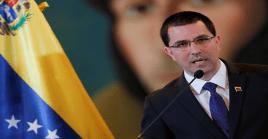 Arreaza afirmó que la posición de la Unión Europea respecto a Venezuela es contradictoria.