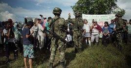Los hechos fueron denunciados a la Alianza Campesina Étnica y Comunitaria del Guaviare y Sur del Meta.