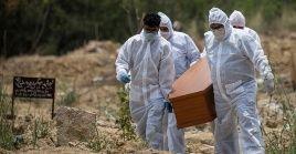 La pandemia no cesa de cobrar víctimas mortales principalmente en países de América y Asia.