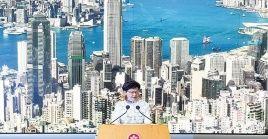 Manifestantes en Hong Kong han llamado de nuevo a las protestas en las calles en medio de la pandemia.