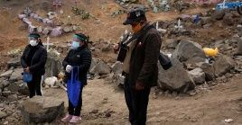 Con 203.736 casos confirmados, Perú es el segundo país de Latinoamérica más afectado por la Covid-19.