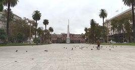 La capital de Argentina es una de las zonas más afectada por la pandemia con 11.965 contagios.