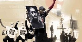 Tras el asesinato de Floyd, han estallado fuertes protestas en Estados Unidos.