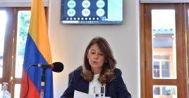 La vicepresidenta de Colombia, Marta Lucía Ramírez, ha negado las acusaciones en su contra.