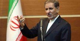 El vicepresidente primero reiteró que Irán no se amedrenta a las amenazas del jefe de Estado estadounidense, Donald Trump.