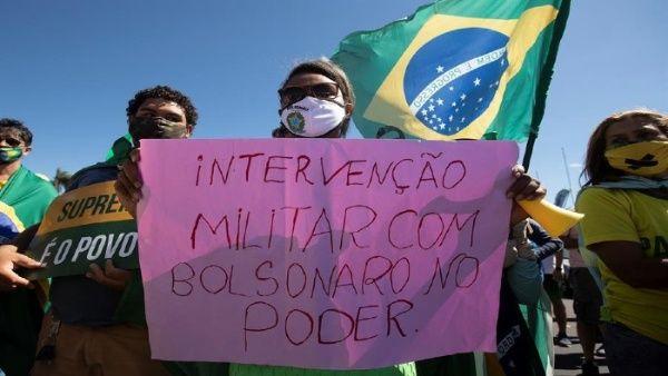 El STF de Brasil repudia acciones de grupos afines a Bolsonaro ...