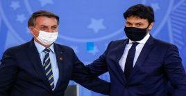 En la juramentación de Fabio Faria como nuevo titular de Comunicaciones, Bolsonaro criticó abiertamente a instituciones que le han puesto freno a sus decisiones.