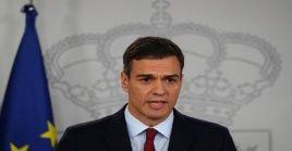 Presidente del Gobierno español, Pedro Sánchez, intervino este viernes en reunión de la Unión Europea dedicada a discutir el plan de recuperación para el continente.