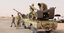 """El ejército libio consideró las afirmaciones del gobernante egipcio como """"una declaración de guerra""""."""