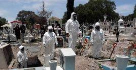 México registró este lunes 759 nuevas defunciones  por el coronavirus.