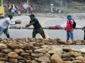 Activistas y organizaciones de Derechos Humanos rechazan estas prácticas por parte del Estado colombiano de montaje a las comunidades minero-campesinas.