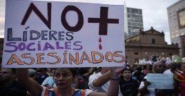 Ya suman 140 los defensores de derechos humanos asesinados en Colombia en lo que va de 2020.