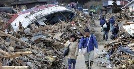 El área geográfica donde se ubica Japón posee una gran actividad sísmica. La foto corresponde al temblor de marzo de 2011, uno de los más devastadores que ha tenido el país.