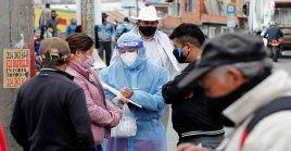 Bogotá tuvo nuevamente la mayor cantidad de casos diarios al registrar 1.399 contagios en 24 horas.