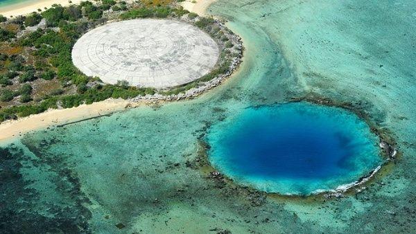 La cúpula Runit, también conocida como Cráter Cactus, guarda el equivalente a 35 piscinas olímpicas de desechos nucleares.