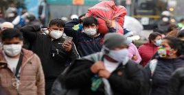 Perú superó a España e Italia en cantidad de casos confirmados de coronavirus y se ubica en sexto lugar global.