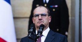 Castex asumió la primera magistratura de Francia el pasado 3 de julio.