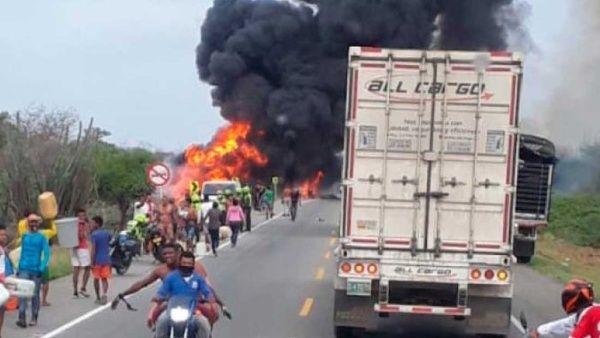 Cifra de muertos por explosión de camión en Colombia sube a 20 ...