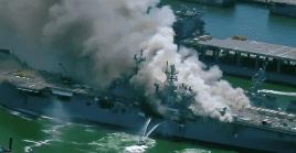 Por su parte el Departamento de Bomberos de San Diego, informó que varios marineros fueron remitidos a urgencias para ser atendidos ante las graves quemaduras.