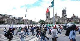 En México se elevó el domingo la cifra de muertos a 35.006, por la Covid-19, al cumplirse cuatro meses de la primera defunción por esa causa en el país.