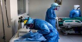 Los médicos colombianos exigen tener equipos de cuidado intensivo.