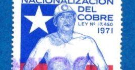 """Chile conmemora los 49 años de la nacionalización del cobre, considerado como la """"viga maestra"""" de la economía."""