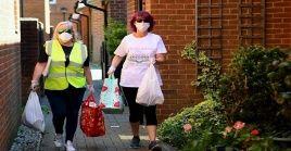 Reino Unido contabiliza desde el inicio de la pandemia 292.552 casos positivos de la Covid-19.