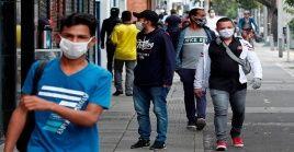 La capital colombiana registró este lunes 2.326 nuevos contagios de coronavirus.