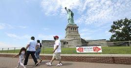 Nueva York sigue al frente de las estadísticas de contagios y fallecidos por la pandemia en Estados Unidos.