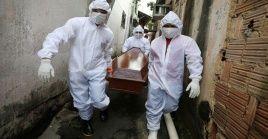 En cada una de las últimas cinco semanas se confirmaron en Brasil más de 7.000 muertes por el Sars-Cov-2.