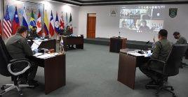 """Encuentro de la CFAC busca """"contribuir en las medidas de contención, control y asistencia sanitaria"""" ante la pandemia en la región."""