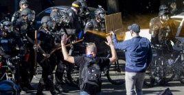 Las protestas antirracistas en Seattle se saldan con 45 detenciones y 21 policías herido