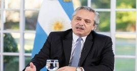 El jefe de Estado recordó aEva Perón acotando que su legado es siempre ayudar a los que más necesitan.