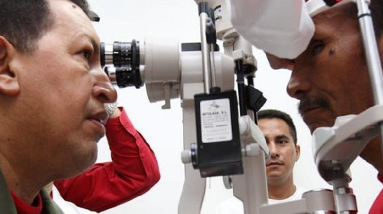 La Misión Milagro involucró a miles de personas que recuperaron la visión con el apoyo de Cuba.