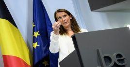 """Estas regulaciones se toman para """"evitar un bloqueo general"""", informó la primera ministra belga."""