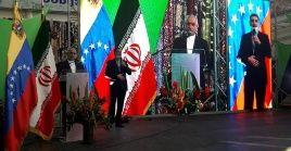 """En el acto, el embajador de Irán en Venezuela, Hojjatolla Soltani, aseveró que """"Venezuela e Irán lo volvieron hacer""""."""