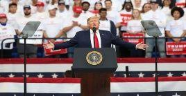 Donald Trump no logra repuntar en las encuestas electorales para las elecciones de noviembre.