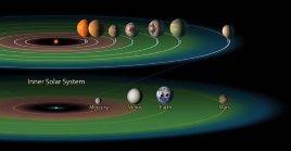Planetas deotro sistema distinto al solar podrían contener incluso océanos de agua líquida, lo que sugiere posibles zonas habitables en el espacio exterior.