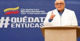 El ministro alertó la situación de Caracas, donde 21 de sus 22 parroquias registran casos confirmados.
