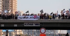 Las demandas han estado centradas en que Netanyahu salga del gobierno y no tanto en ayudas económicas.