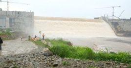 El proyecto de represa etíope comenzó a construirse en 2015.