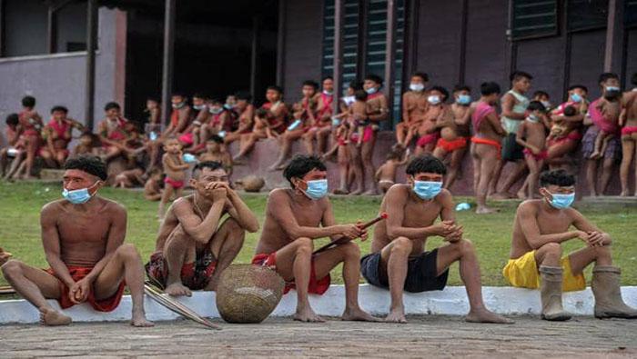 La Articulación de los Pueblos Indígenas de Brasil (Apib) registra 15.823 aborígenes infectados por coronavirus, y 535 de estos, fallecidos por la Covid-19.