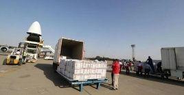 La operación de emergencia llevará diveros suministros donados por Marruecos a Líbano.