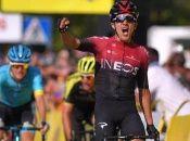 El ecuatoriano Richard Carapaz tiene una ventaja de cuatro segundos sobre elitaliano Diego Ulissi y el polaco Kamil Malecki, en la 77.ª edición de la Vuelta a Polonia.