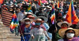 El dirigente de la COB afirmó que seguirán con las acciones de protestas hasta llegar a un acuerdo con la fecha de las elecciones en Bolivia.