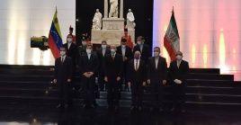 El Panteón Nacional, de Caracas, fue la sede los actos conmemorativos por el aniversario 70 de relaciones diplomáticas entre Venezuela e Irán.