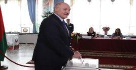Alexandr Lukashenko alcanzó este domingo su séptima reelección consecutiva.