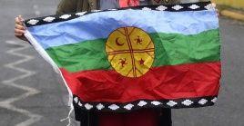 La hija de la expresidenta Bachelet participaba en una manifestación a favor de la causa mapuche.