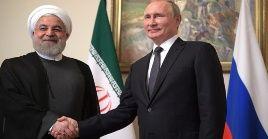 Irán y Rusia mantienen profundas y provechosas relaciones basadas en la amistad, el respeto mutuo y la vocación de paz, entre otros principios.