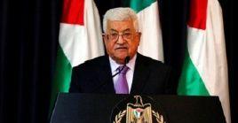 """El mandatario palestino pidióuna """"reunión de emergencia"""" con la Liga Árabepara denunciarel acuerdo que cuentacon el plenode EE.UU."""